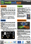 MobiWebApp project poster